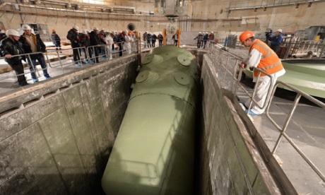 Do čtvrtého bloku JE Rostov byla nainstalována reaktorová nádoba