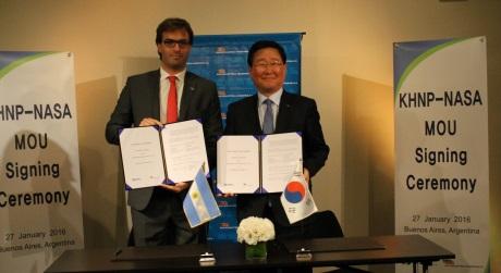 Společnosti KHNP a NASA podepsaly dohodu o spolupráci