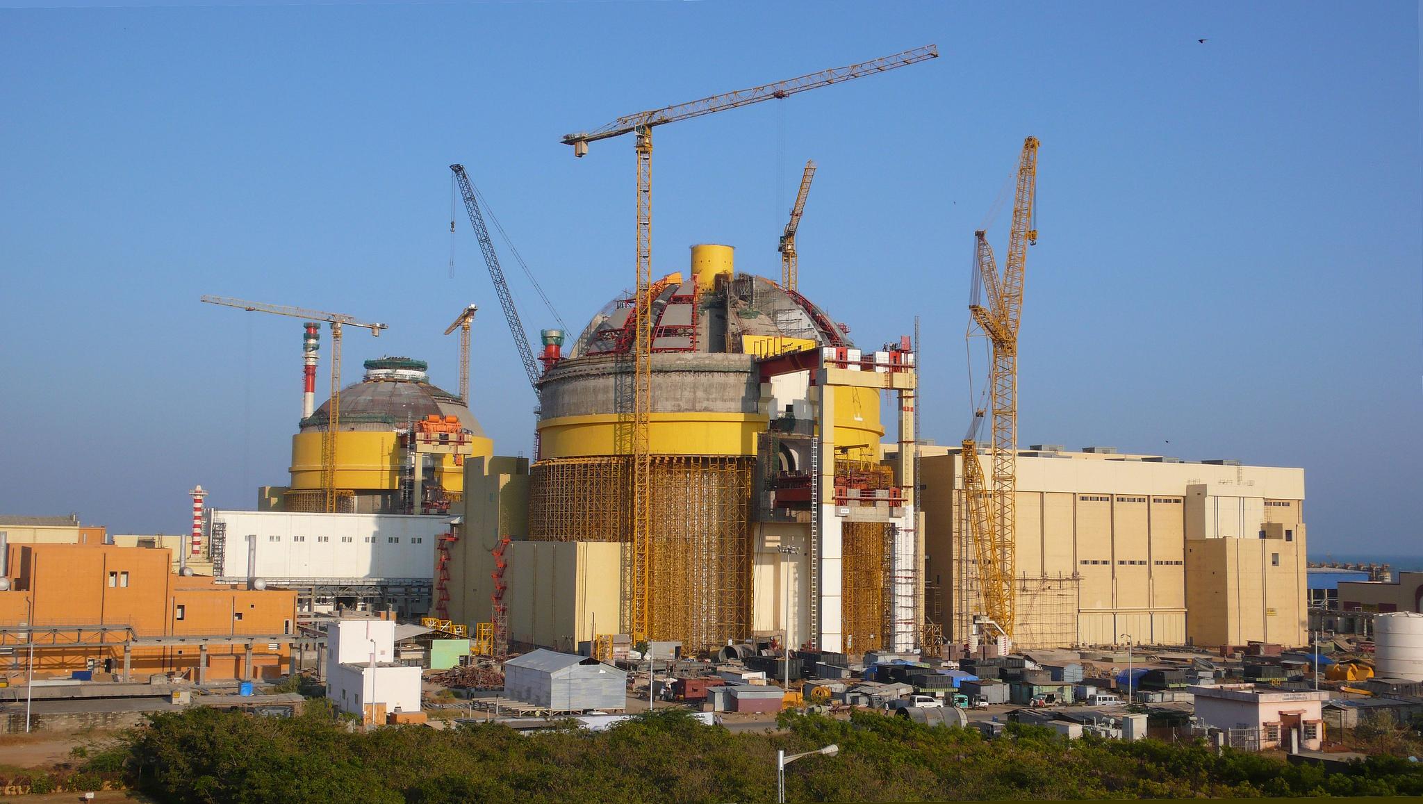 Vláda Indie: Druhý blok jaderné elektrárny Kudankulam bude spuštěn do poloviny roku 2016