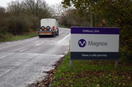 Oldbury used fuel goes to Sellafield - 460 (Magnox)