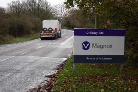 Britská společnost Magnox odeslala poslední palivo z JE Oldbury k přepracování