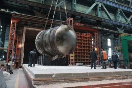 Vessel for second Belarus unit - 460 (Atomenergomash)