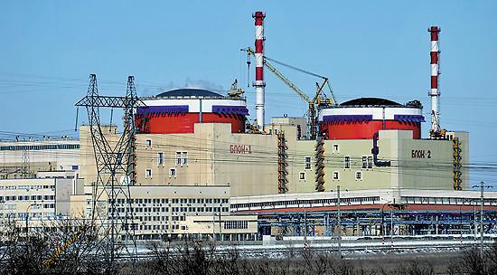 Pokrok ve výstavbě nových ruských JE