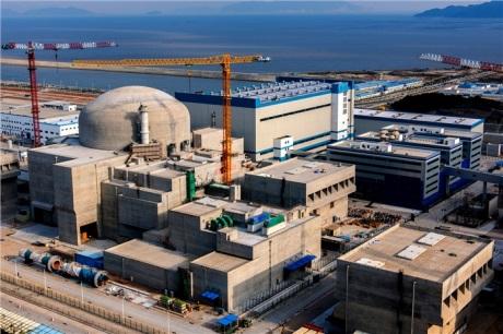 První reaktor typu EPR v JE Tchaj-šan dokončil studené testy