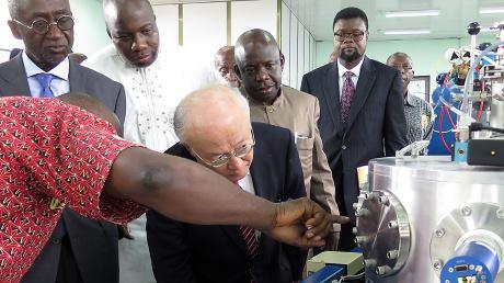 Mezinárodní agentura pro atomovou energii nabízí podporu Ghaně