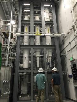 Společnost Kurion dokončila prototyp modulárního systému na odstraňování tritia