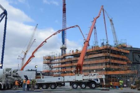 Vogtle 3 CA20 concrete pumping 060316 - 460