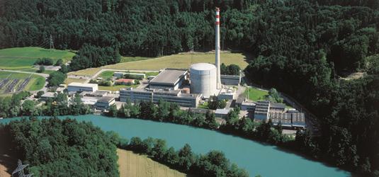 Společnost BKW stanovila datum pro trvalé odstavení švýcarské jaderné elektrárny Mühleberg