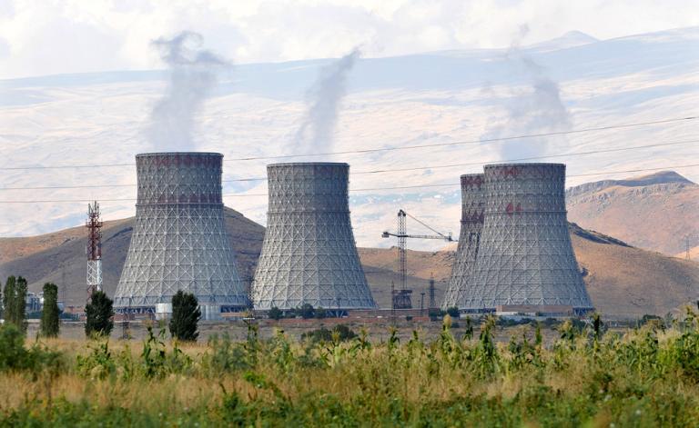 Projekt prodloužení provozu Arménské jaderné elektrárny může trvat až pět let