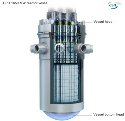 EPR reactor vessel - 250 (ASN)