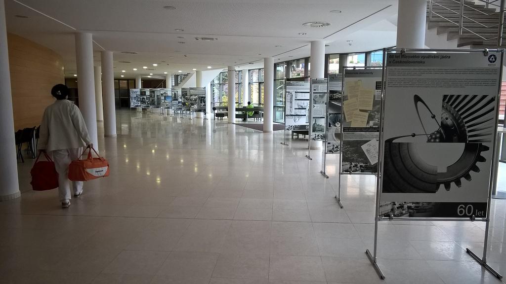 Na VŠB-Technické univerzitě Ostrava bude kvidění výstava připomínající 60.výročí mírového využívání jádra v Československu