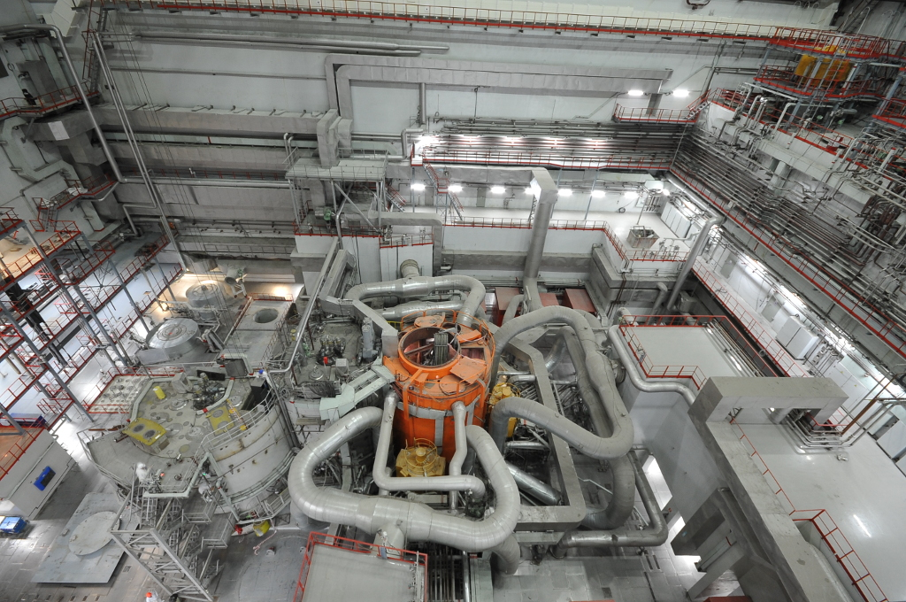 Spouštění rychlého reaktoru BN-800 postupuje: výkon dosáhl 85 procent