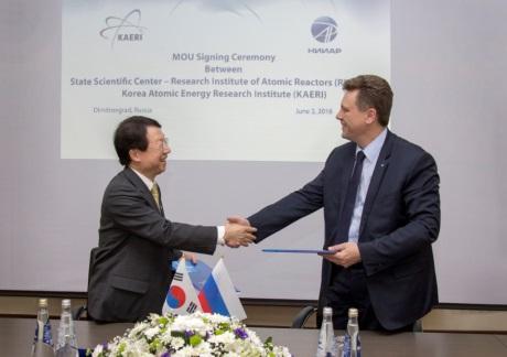 Rusko a Korea rozšířily spolupráci v oblasti vývoje rychlých reaktorů