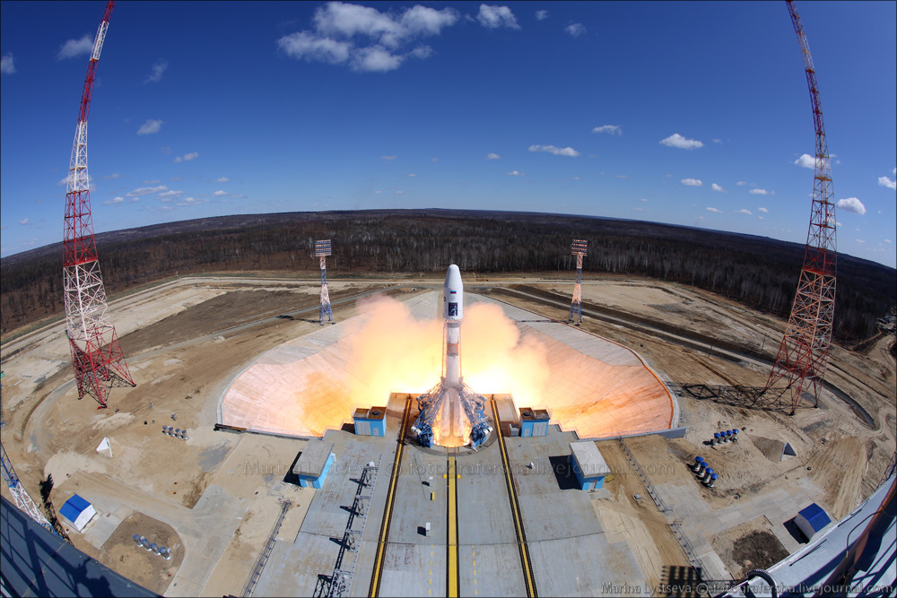 Rosatom zajistil geodetické přístroje pro nový ruský kosmodrom
