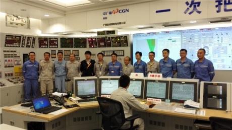 Druhý blok jaderné elektrárny Fang-čcheng-kang byl připojen k síti