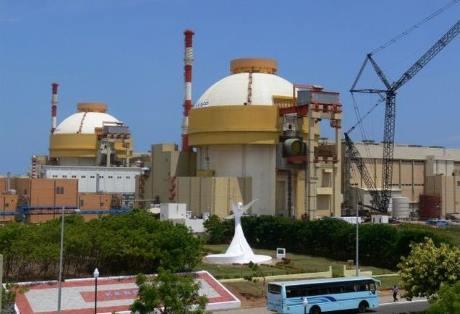 Další indický jaderný blok dosáhl první kritičnosti