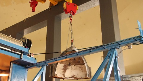 Na jaderné elektrárně Obrigheim byla dokončena demontáž tlakové nádoby reaktoru