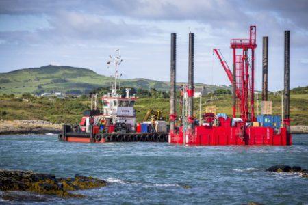Wylfa off-shore platforms - 460 (Horizon)