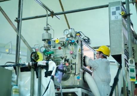 Z rychlého reaktoru Dounreay bylo odstraněno chladicí médium