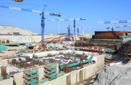 Na šestém bloku jaderné elektrárny Fu-čching začala výstavba strojovny