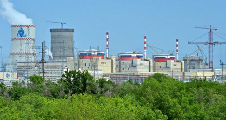 Na čtvrtém bloku ruské JE Rostov byl instalován havarijní chladicí systém reaktoru