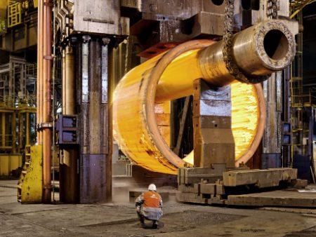 jaderná energie - Parogenerátory předmětem pozornosti úřadu ASN - Ve světě (Creusot Forge Areva 460x345 450x338 1) 1