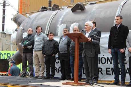 Na jadernou elektrárnu Embalse byly doručeny nové parogenerátory
