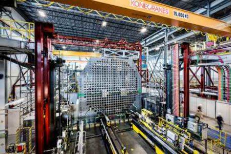 OPG reactor mockup 460