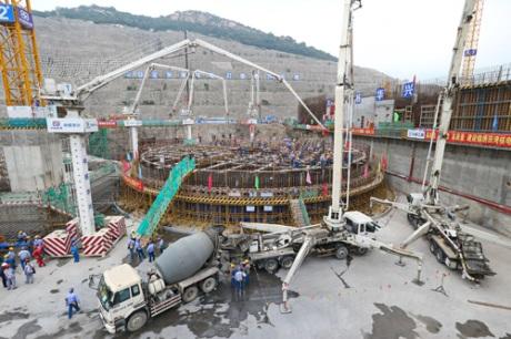 Byla zahájena výstavba šestého bloku JE Tchien-wan