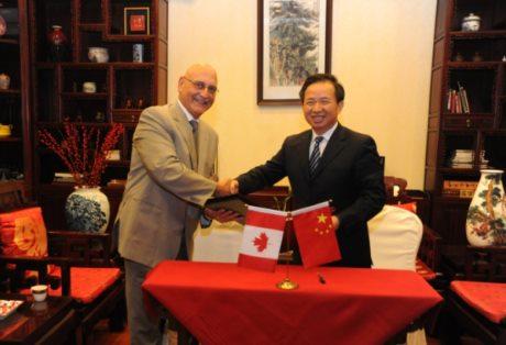 Kanada a Čína podepsaly memorandum o porozumění