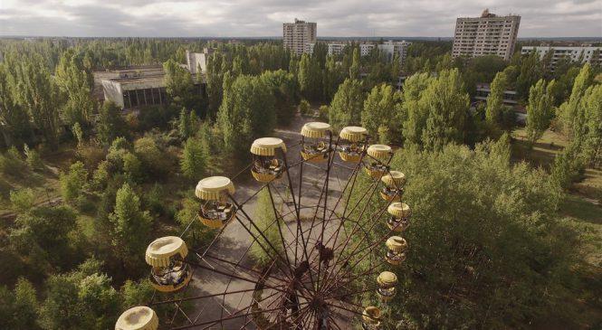 Oblast Černobylu v minulosti a přítomnosti