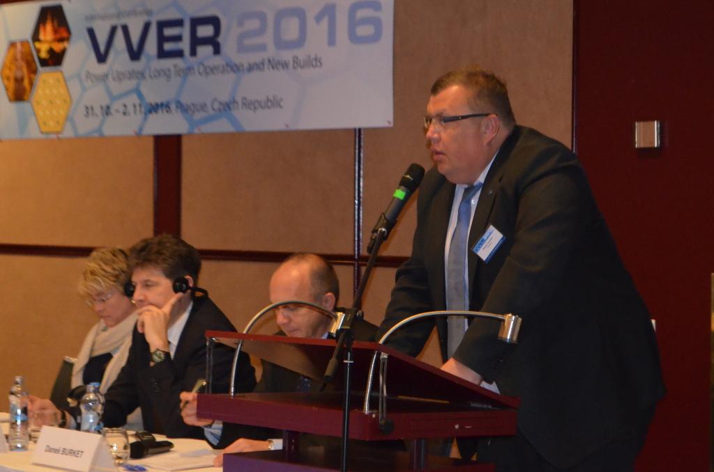 [VVER 2016] Nikolaj Drozdov: Rosatom staví jaderné elektrárny sériově