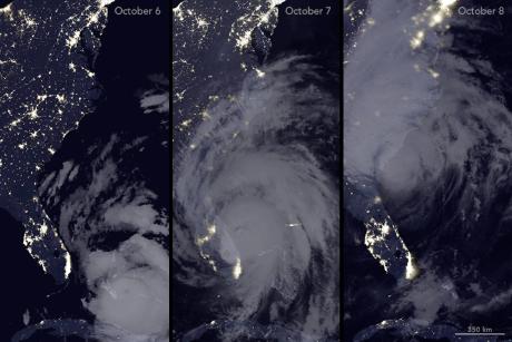 Americké jaderné elektrárny přečkaly hurikán Matthew bez poškození