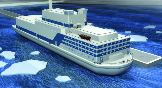 Začaly práce na výstavbě pobřežní infrastruktury pro ruskou plovoucí jadernou elektrárnu