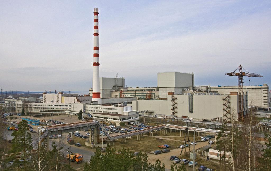 jaderná energie - Reaktory RBMK v Leningradské elektrárně - Fotografie (RIAN archive 305005 Leningrad nuclear power plant) 2