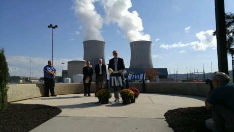 jaderná energie - Druhý blok americké JE Watts Bar zahájil komerční provoz - Nové bloky ve světě (Watts Bar 2 commercial operation 460 TVA) 2