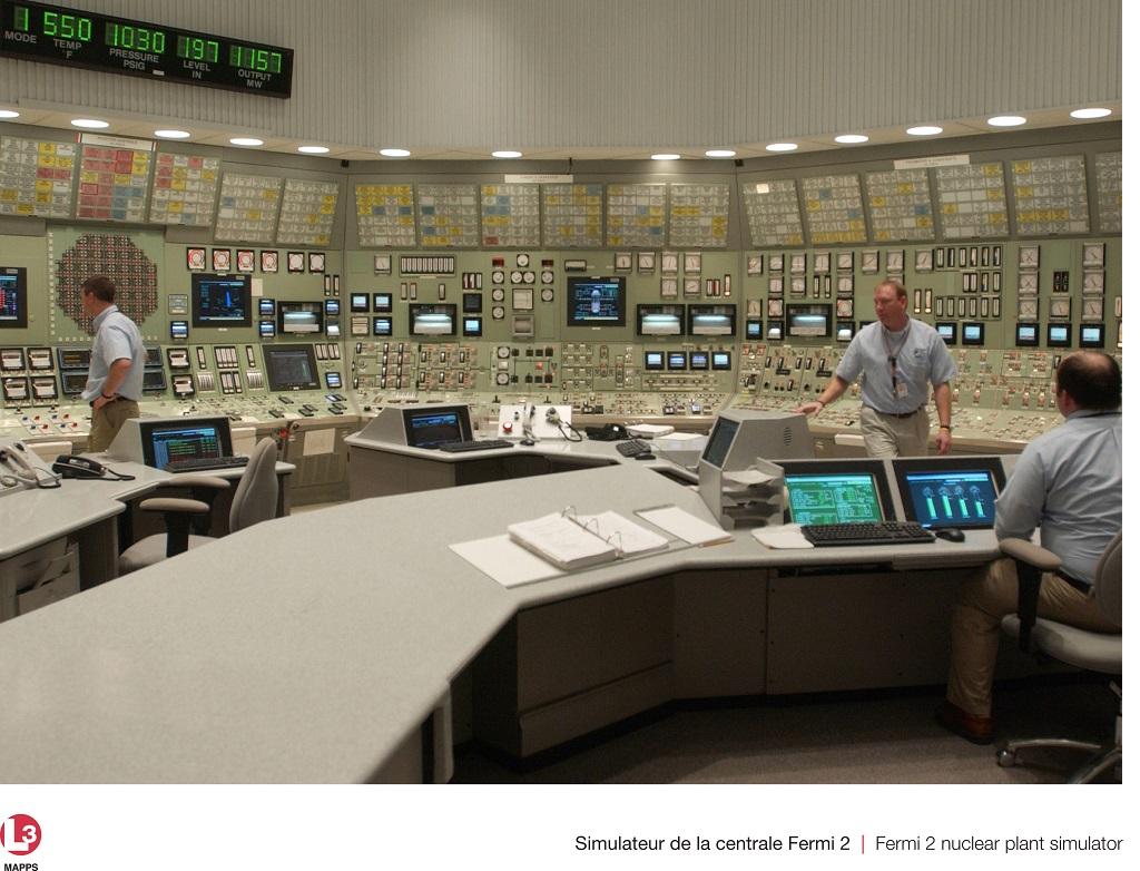 jaderná energie - Společnost L-3 MAPPS inovuje simulátor na druhém bloku JE Fermi - Ve světě (pg Fermi02) 2