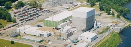 jaderná energie - Likvidaci JE Vermont Yankee převezme společnost NorthStar - Back-end (Vermont Yankee aerial 460 Entergy) 1