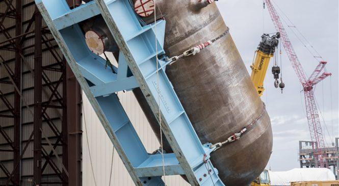 Stavba VC Summer, AP1000 západní tlakovodní reaktor generace III+