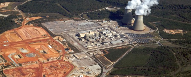 jaderná energie - Regulátor ve státě Georgie se dohodl na překročení rozpočtu JE Vogtle - Nové bloky ve světě (Construction at Vogtle Nuclear Plant) 2