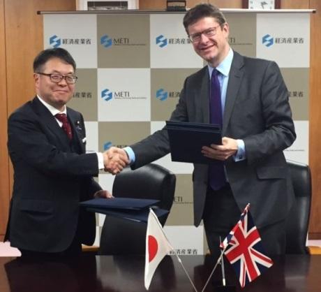 jaderná energie - Británie a Japonsko rozšířily spolupráci v oblasti jaderné energetiky - Ve světě (Japan UK MOU December 2016 460 BEIS) 1