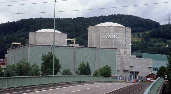 Švýcarské jaderné elektrárny