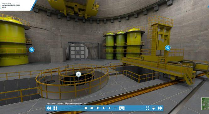 Prohlídka virtuálního modelu Novovoroněžské JE 2