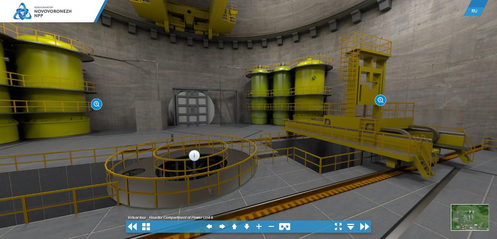 jaderná energie - Prohlídka virtuálního modelu Novovoroněžské JE 2 - Nové bloky ve světě (virt prohl) 2