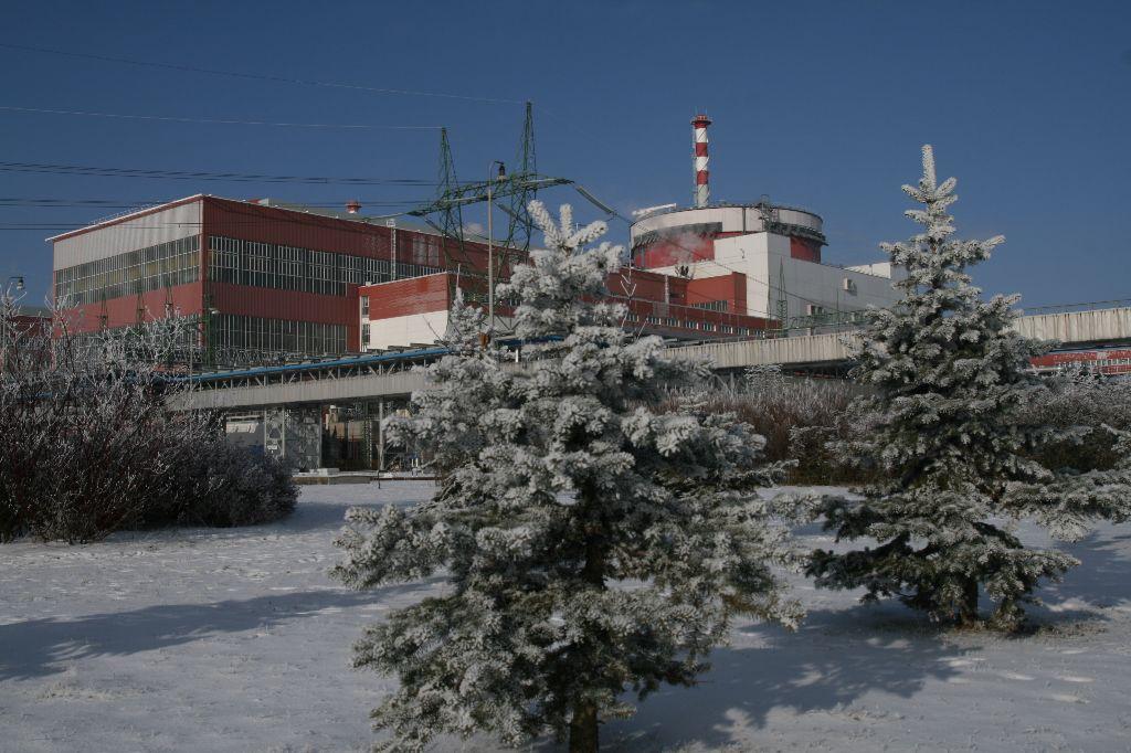 jaderná energie - JE Temelín vyrobila díky mrazům více elektřiny - V Česku (05 temelin) 2