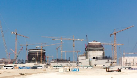 Stavební milníky na třetím a čtvrtém bloku JE Barakah