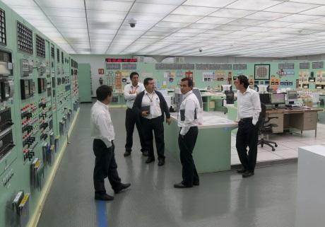Modernizace simulátoru pro mexickou jadernou elektrárnu Laguna Verde