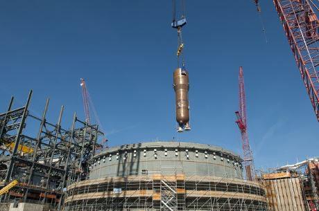 jaderná energie - V JE Summer byl instalován první parogenerátor - Nové bloky ve světě (Summer first SG SCEG 460 1) 1