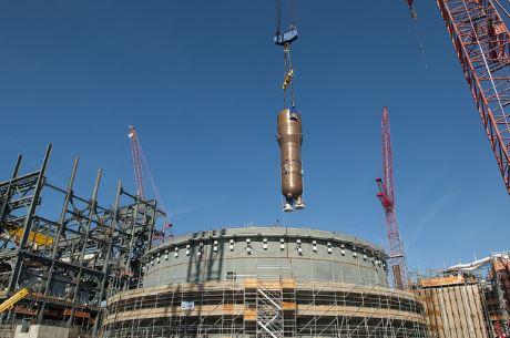jaderná energie - V JE Summer byl instalován první parogenerátor - Nové bloky ve světě (Summer first SG SCEG 460 1) 2