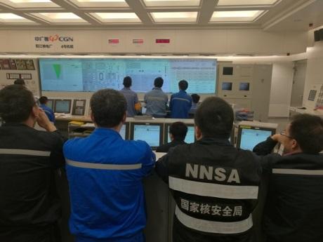 Čtvrtý blok JE Jang-ťiang byl připojen k rozvodné síti